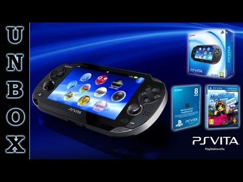 PlayStation Vita 3G/Wi-Fi — Распаковка и мини-обзор