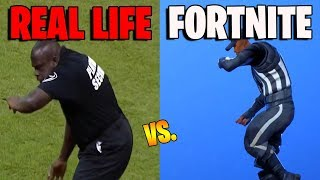 FORTNITE DANCES IN REAL LIFE THAT ARE 100% IN SYNC.! (Work it Emote) [Perfect Timing]