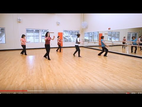 Meaning of LIfe - Line Dane (Dance & Teach in English & 中文) - YouTube