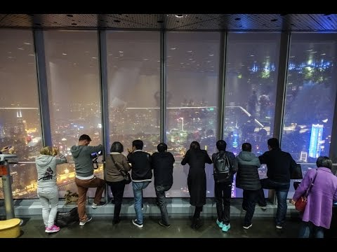 Shanghai Tower, highest observation deck in the world, China