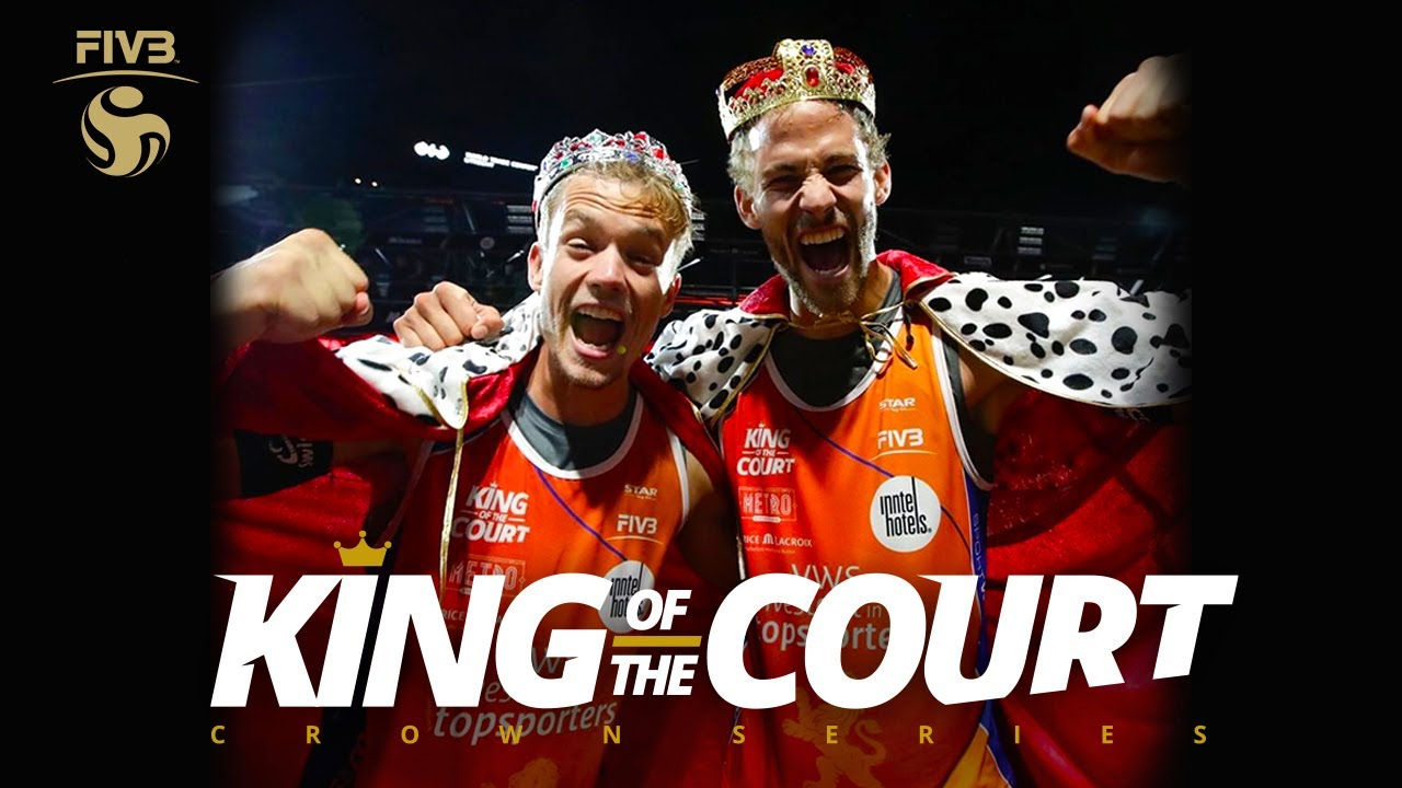 Krattiger/Breer: Kings of the Court! 👑🏐 | Highlights | King of the Court - Utrecht 2020