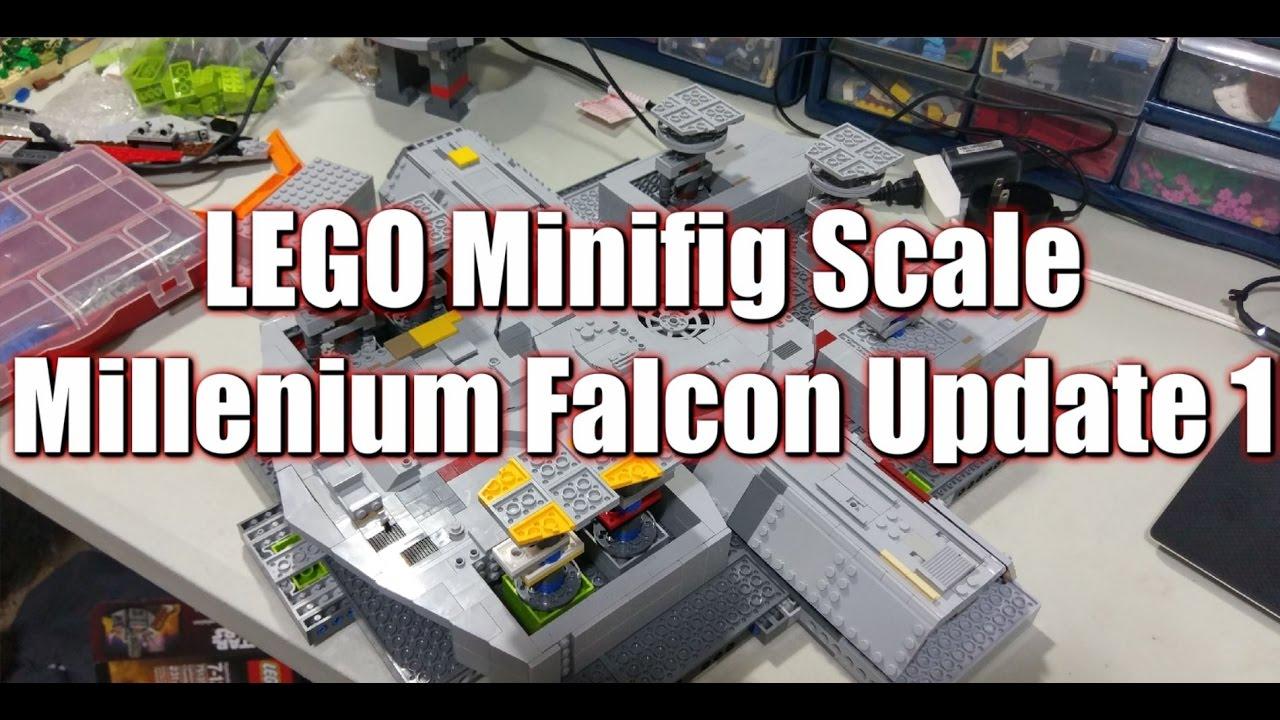 Lego Custom UCS Millennium Falcon: Update 1 - YouTube