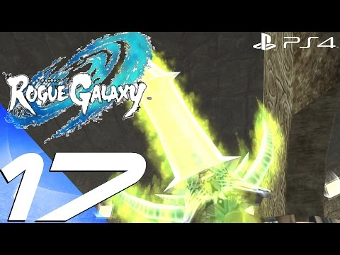Rogue Galaxy PS4 - Gameplay Walkthrough Part 17 - Gladius Tower 1 [1080p 60fps]