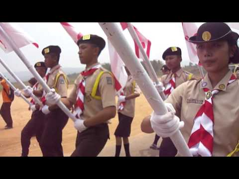 PBB Variasi, Estafet Api Dasa Dharma SMAN 1 MAJENANG, GWC 2015