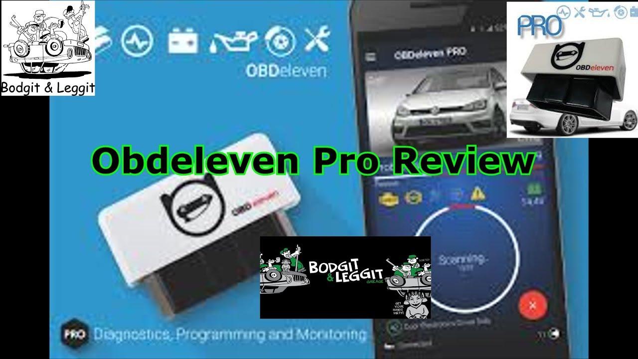 Obdeleven Pro Review (DISCOUNT CODE: LPYHNURF) Bodgit And Leggit Garage