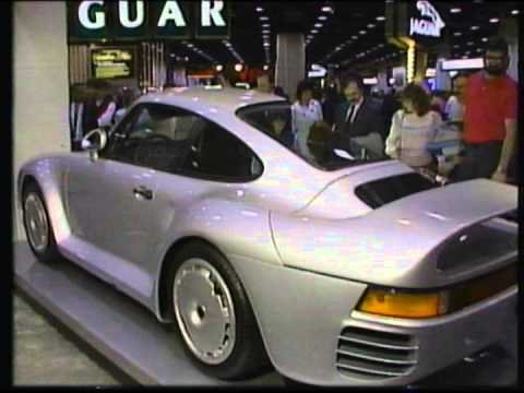 Porsche 959 Concept At The 1986 Chicago Auto Show Youtube