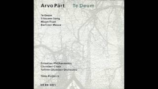 Te Deum - Arvo Part (part 2)