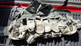 Molle II FLC as a chest rig