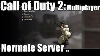 Call of Duty 2 Online Multiplayer #1, möglichst normale Server