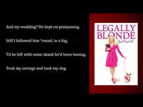 Ireland - Legally Blonde - Insrumental - Original Key