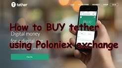 How to buy USDT Tether from poloniex