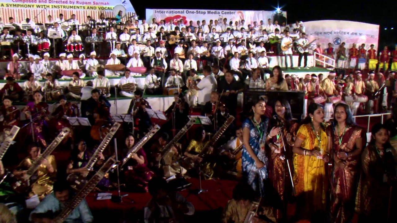 A Musical Journey for World Peace (Short Trailer) - Guinness World Records   Rupam Sarmah