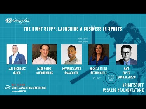 SSAC18: The Right Stuff: Launching a Business in Sports