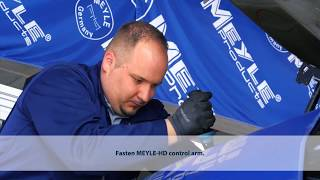 The MEYLE Mechanics  MEYLE HD control arm for BMW applications