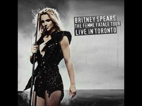 Britney Spears - Womanizer (Femme Fatale Tour Studio Version)