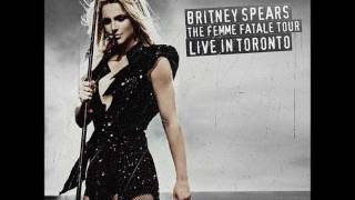 Britney Spears - Womanizer (Femme Fatale Tour Studio Version)