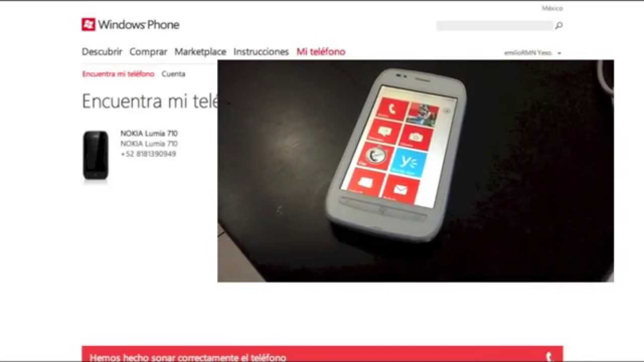 Localizar movil windows mobile