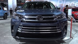2018 Toyota Highlander Limited AWD - Exterior And Interior Walkaround - LA Auto Show 2017