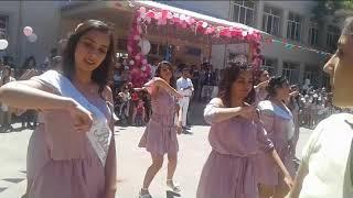 выпускной 2018 год школа 211 класс 11D (smoke show Baku, Azerbaijan)