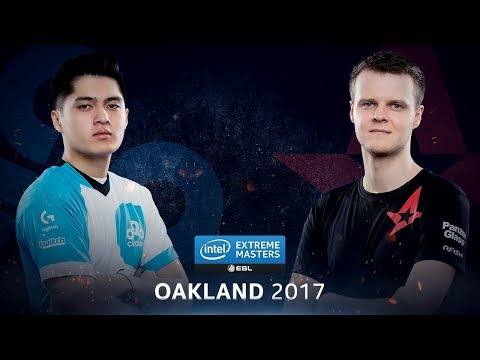 CS:GO - Cloud9 vs. Astralis [Train] - Group A Round 2 - IEM Oakland 2017