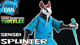 Sensei Splinter Teenage Mutant Ninja Turtles Nickelodeon Action Figure TMNT Video Review