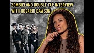 Zombieland: Double Tap Interview | Rosario Dawson