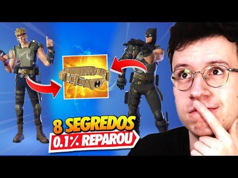JONESY EMPURROU BATMAN? 8 SEGREDOS QUE VC NÃO REPAROU - FORTNITE