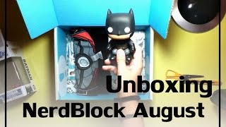 Unboxing NerdBlock August 2014