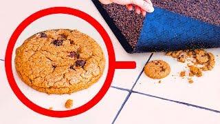 Wenn du einen Keks unter deiner Fußmatte findest, alarmiere die Polizei!