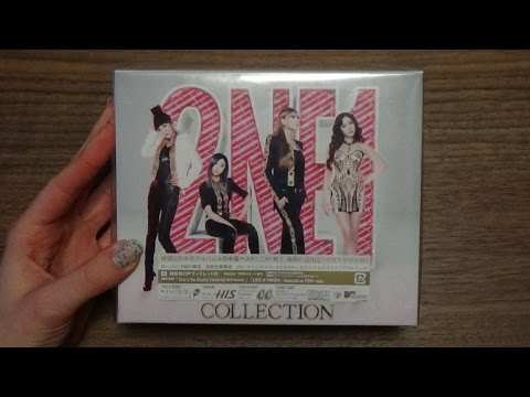 Unboxing 2NE1 1st Japanese Studio Album Collection [HMV/Lawson Limited Edition]