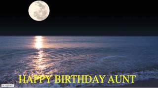 Aunt  Moon La Luna - Happy Birthday