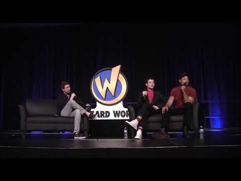 Wizard World Philadelphia 2018- Justice League (Ray Fisher/Ezra Miller) Panel