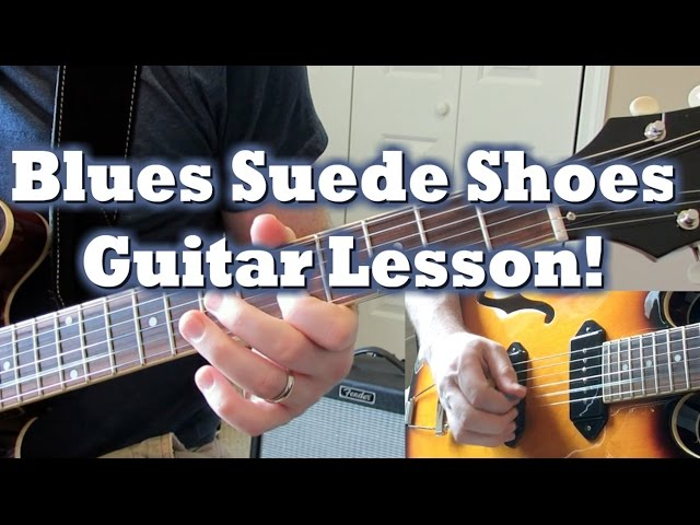 How to Play the Blue Suede Shoes Guitar Solo
