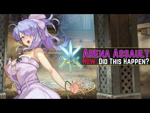 How Could This Happen To Me..? (´・ᴗ・ ` ) | Arena Assault Run #18 【Fire Emblem Heroes】