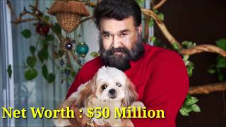 Malayalam and South Indian actor Mohan Lal with his family,  lifestyle, net worth and luxury