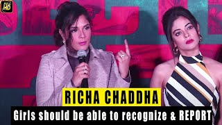 Seen Richa Chadda Talk About Sex Education