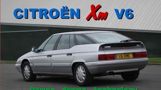 Citroen XM V6 Road Test - Power, Drama, Technology.