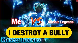 ROBLOX MUSCLE LEGENDS-MAKING A NAME FOR MYSELF
