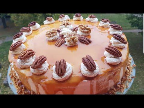 carotte-cake-au-caramel-ou-carrot-cake🥞-كيكة-الجزر-بالكراميل