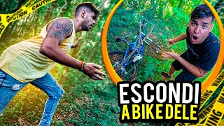 ESCONDI A BIKE DE DOWNHILL DO MEU AMIGO NO SÍTIO DOS CAÇADORES