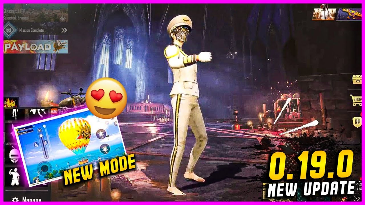 PUBG MOBILE LITE 0.19.0 UPDATE   NEW MODE AND NEW EVENTS   PUBG MOBILE LITE NEW UPDATE