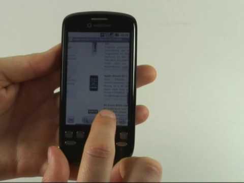 HTC Magic Test Internet