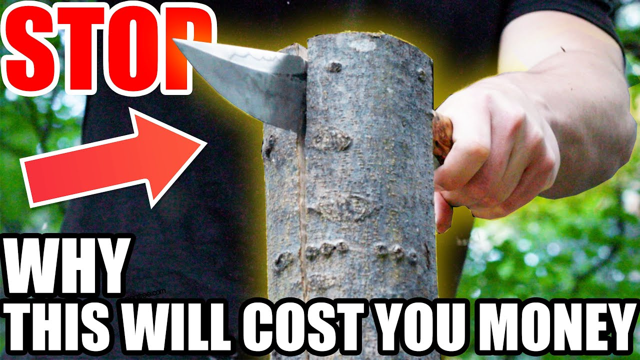 Why Knife Companies SHOULD Refund  Money   #1 Knife Myth Busted