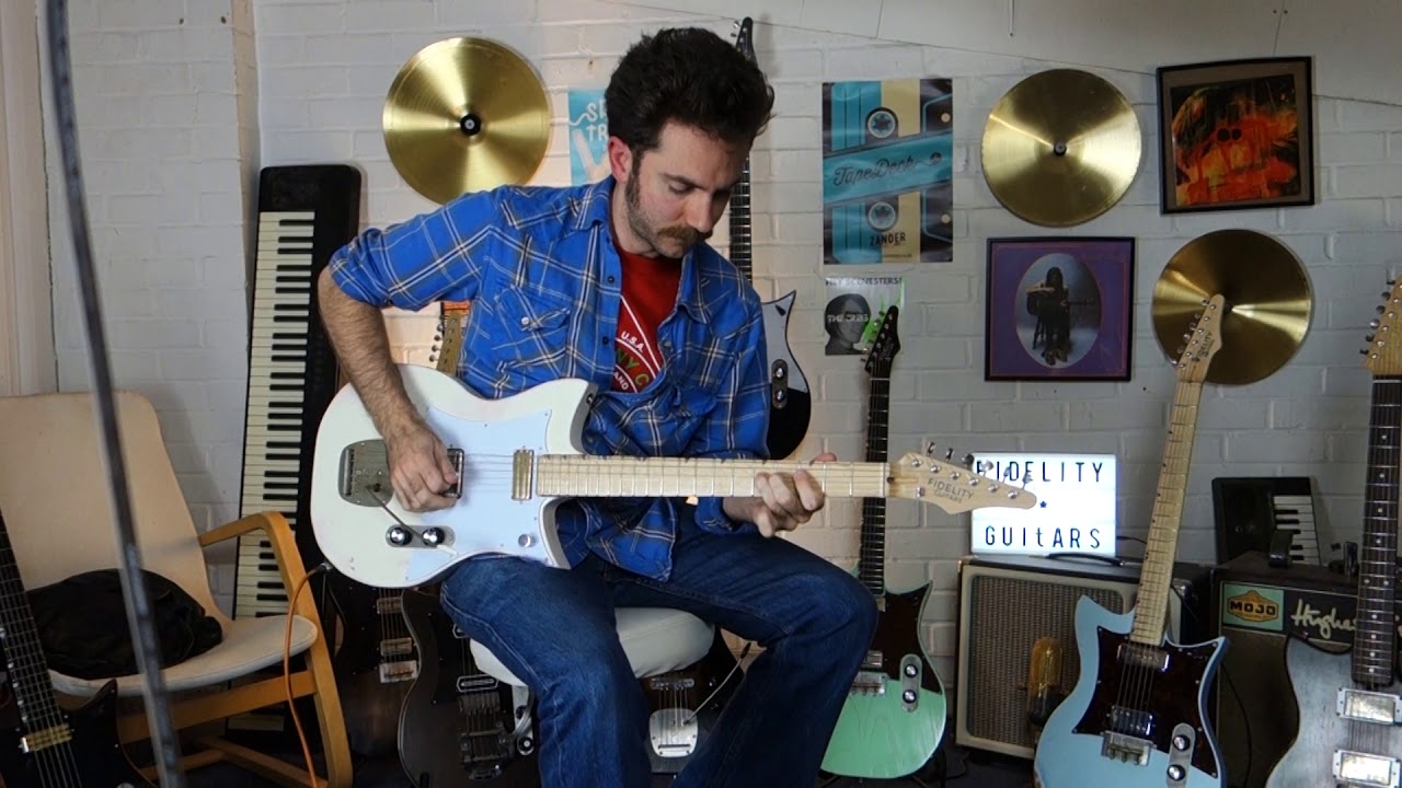 Fidelity Guitars - Jed Potts plays the Double Standard