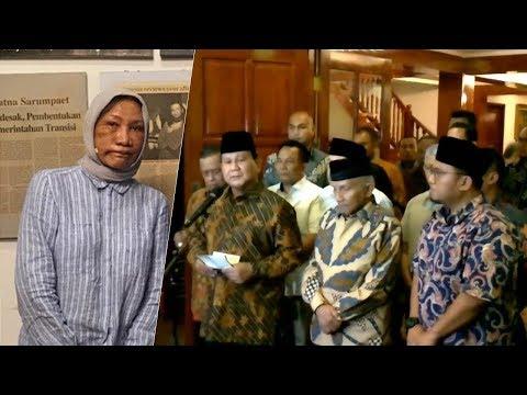 Ratna Sarumpaet Diduga Dianiaya, Prabowo: Itu Tindakan Represif dan Pengecut