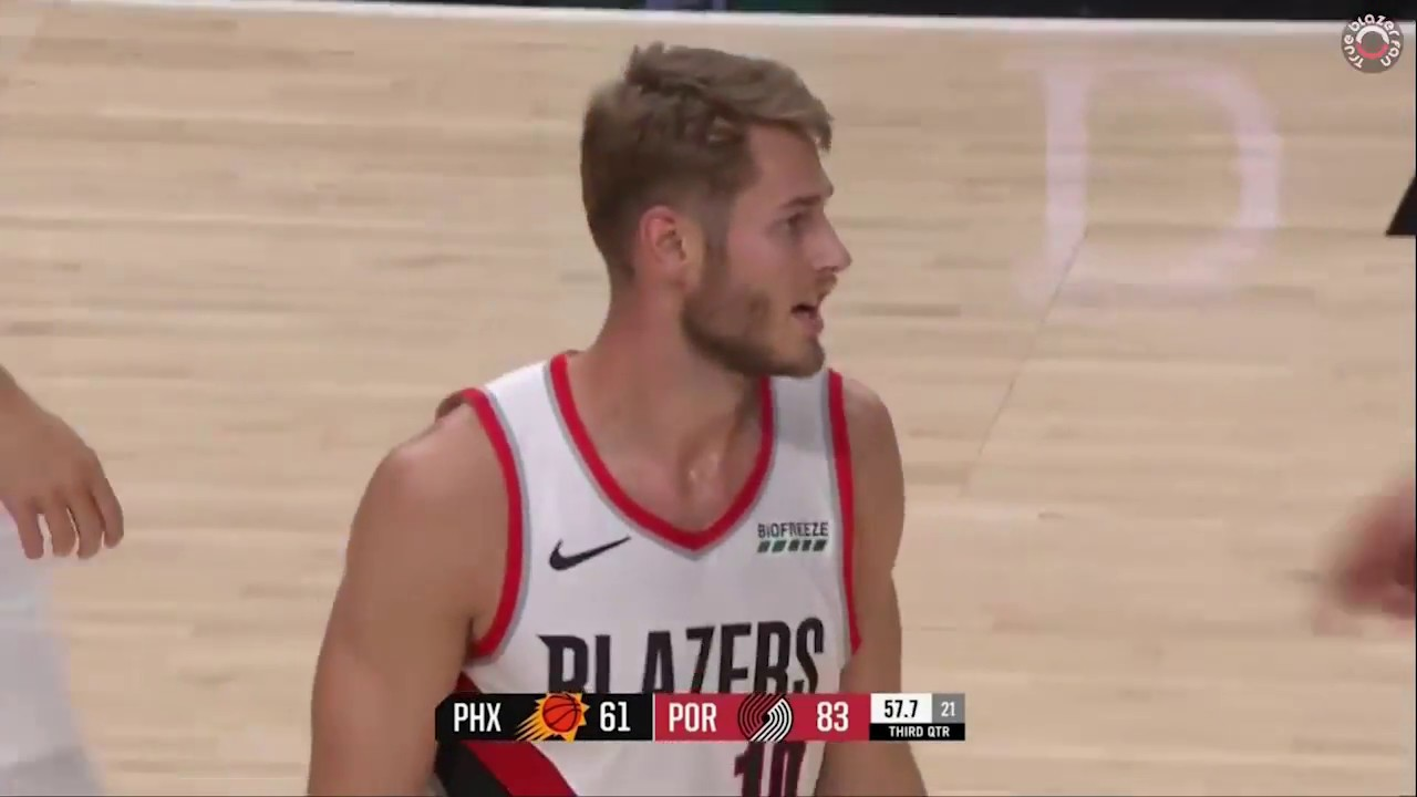 Jake Layman Full Game Highlights -- Blazers vs Suns October 10 2018 ... 7dca918b1