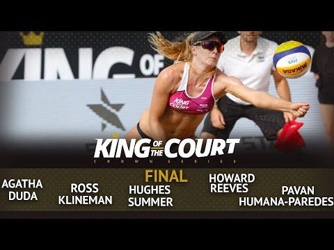 FULL Women's Final | Beach Volleyball | King Of The Court Huntington Beach (USA)