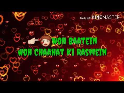 Teri Wo Baatein Wo Chaahat Ki Rasmein...... Part 2 Song Of Maann