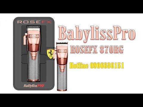 Tông đơ Babyliss Pro ROSE FX FX870RG Cordless
