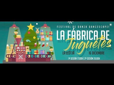 Dancescape!  la Fábrica de Juguetes, la Llotja de Lleida 2017